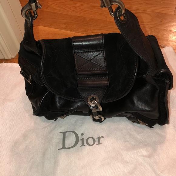Dior Handbags - 100% authentic Dior 13-bm-0056 Black Shoulder bag